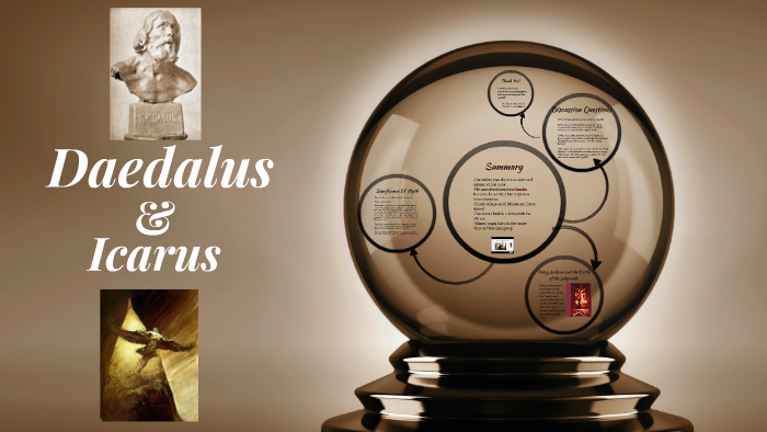 Daedalus Icarus By A English Group On Prezi
