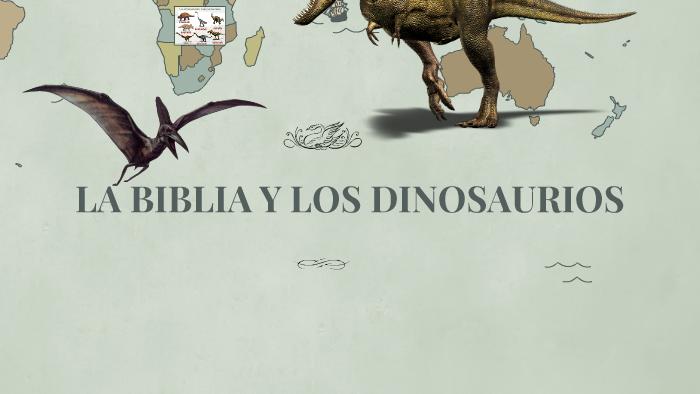 La Biblia Y Los Dinosaurios By Paula Ospina El meteorito que causó la extinción de los dinosaurios y el esplendor de los mamíferos. prezi