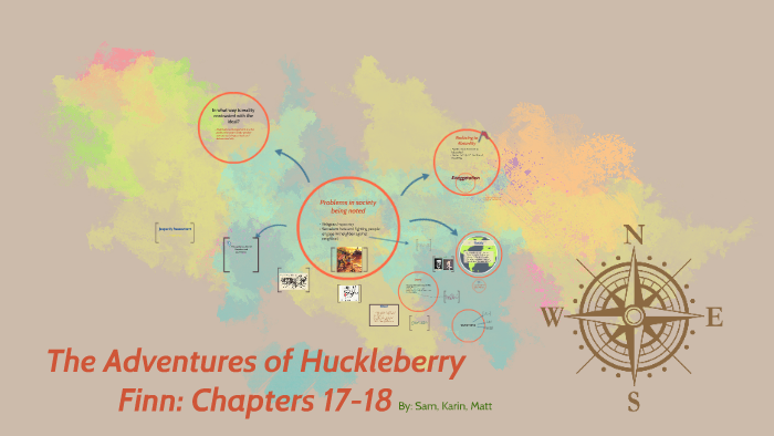 The Adventures Of Huckleberry Finn Chapters 17 18 By Karin Thio