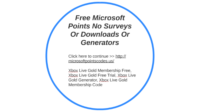 Free Microsoft Points No Surveys Or Downloads Or Generators