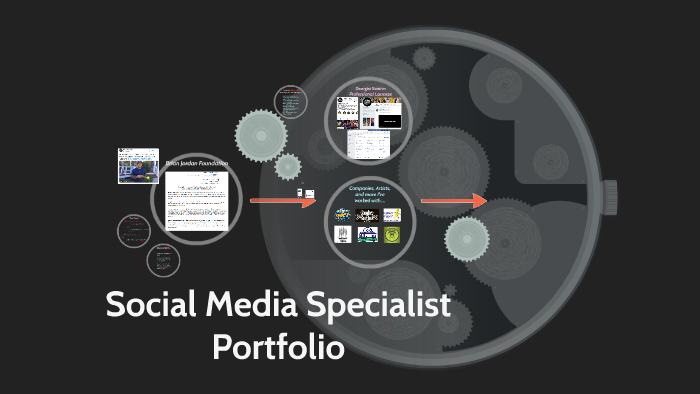 Judean Hanks Social Media Specialist Portfolio by Judean