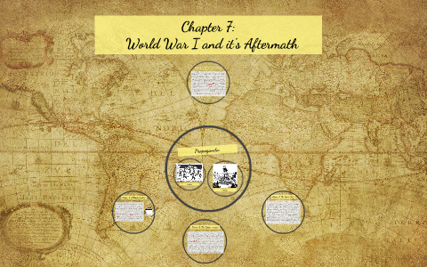 Chapter 7 World War I And It S Aftermath By Bruce Robertson On Prezi