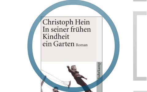 In Seiner Frühen Kindheit Eine Garten Christoph Hein By T E On Prezi