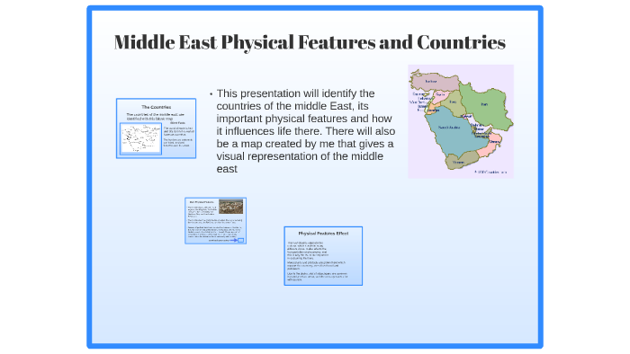 Middle East Physical Geography by Voxel Rush on Prezi
