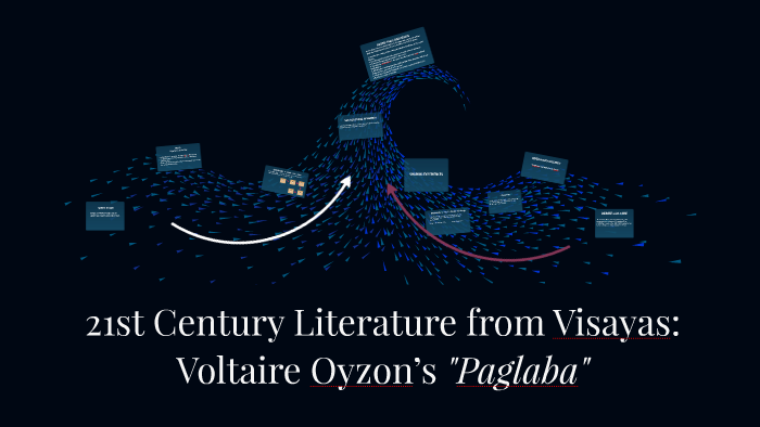 "21ST Century Literature from Visayas: Voltaire Oyzon's """