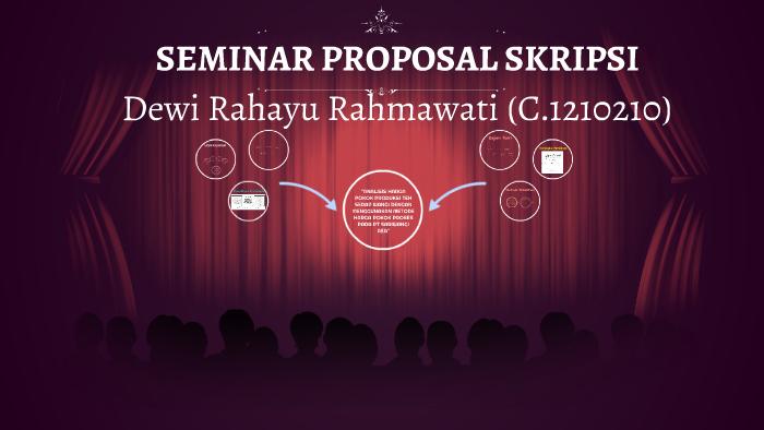 Seminar Proposal Skripsi By Ranti Sopianti