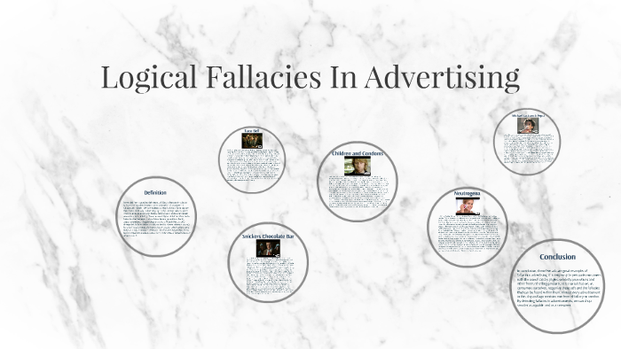 slippery slope fallacy examples commercials