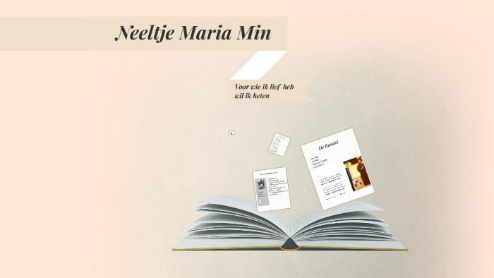 Neeltje Maria Min By Mark Rademaker On Prezi
