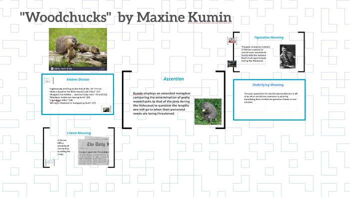 woodchucks maxine kumin