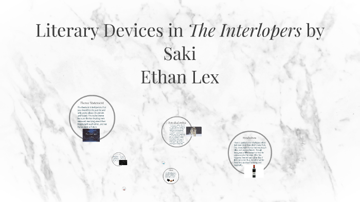 How To Write A Proposal For An Essay  Examples Of Good Essays In English also Essay On Healthcare Literary Devices In The Interlopers By Saki By Ethan Lex On Prezi Starting A Business Essay
