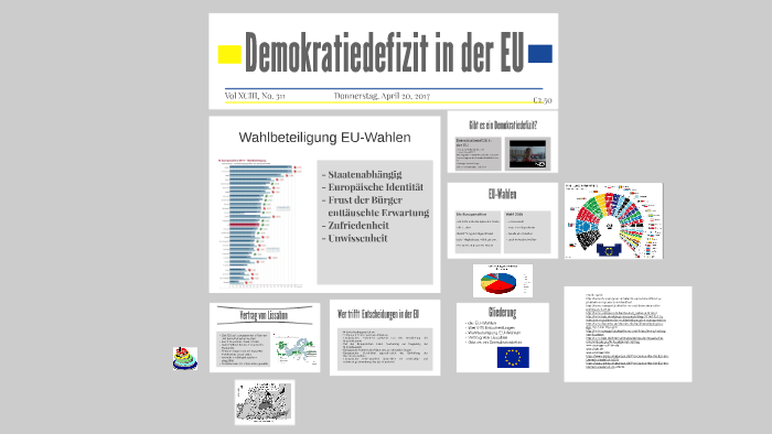Europa demokratiedefizit pro contra