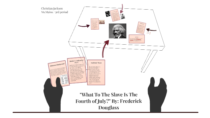 what is the fourth of july to a slave analysis