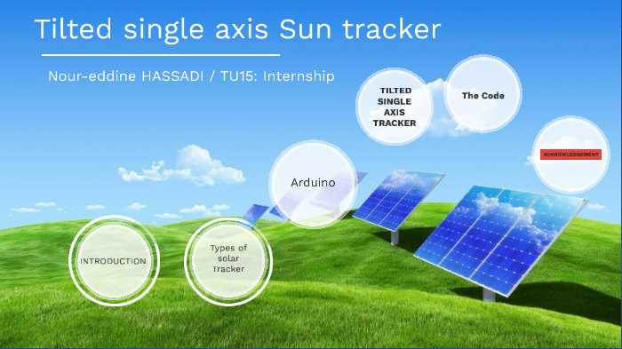 Solar tracker by Nour-eddine Hss on Prezi Next