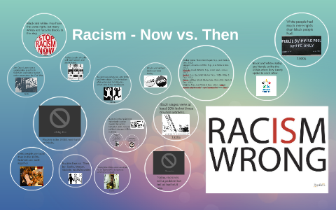 racism then vs now