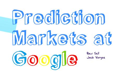 google prediction markets