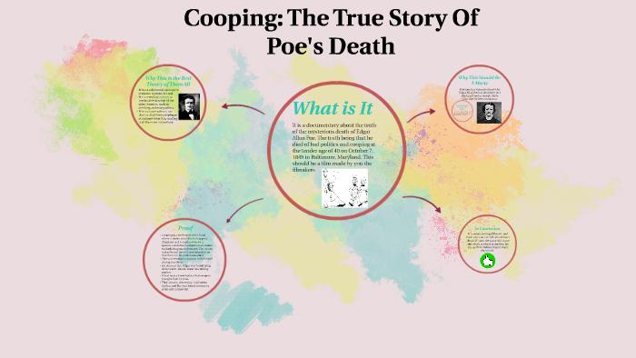 edgar allan poe death theory cooping