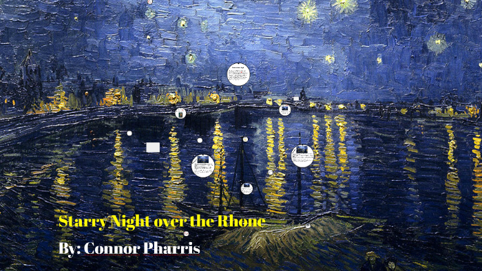 starry night over the rhone analysis
