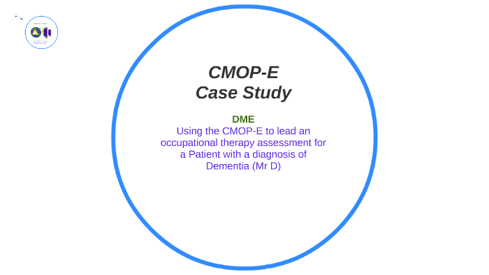 case study using cmop-e