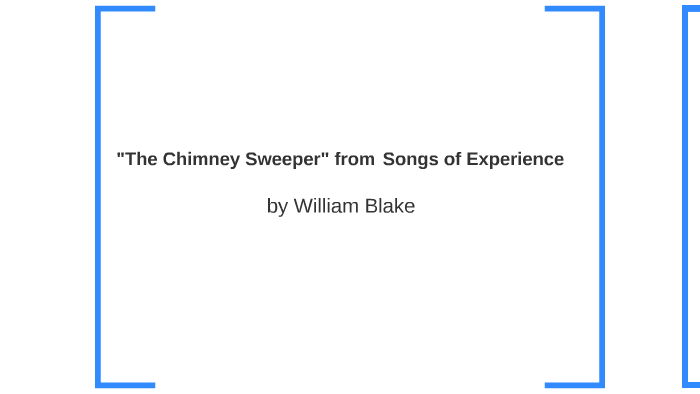 the chimney sweeper theme