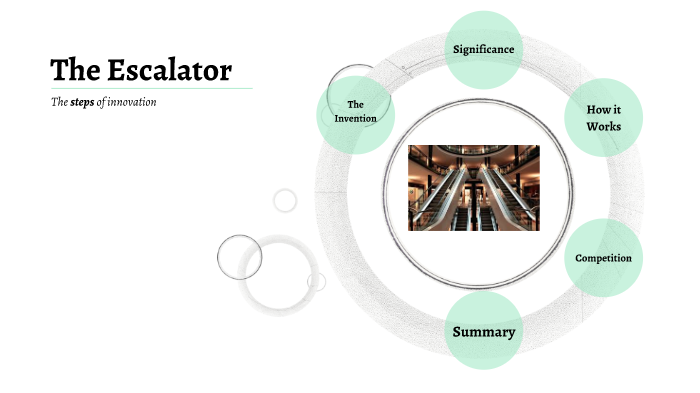 Escalator by Karey Balkind on Prezi Next