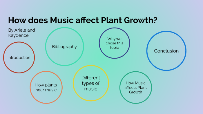 8c857ade72 How Does Music Affect Plant Growth? by Chelsea Murray on Prezi Next