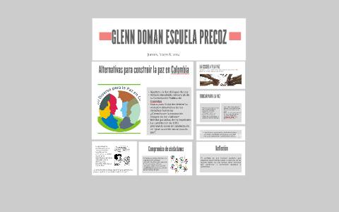 ALTERNATIVAS PARA CONSTRUIR LA PAZ EN COLOMBIA by Daniela