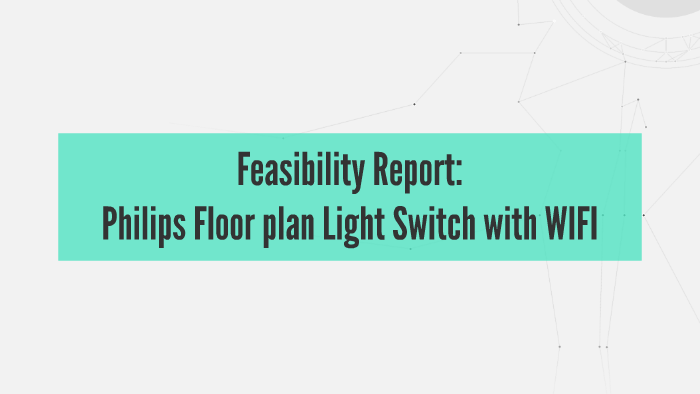 Philips floor plan light switch with wifi by siddhu - Floor plan light switch ...