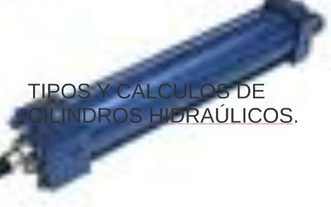 Tipos de cilindros hidraulicos
