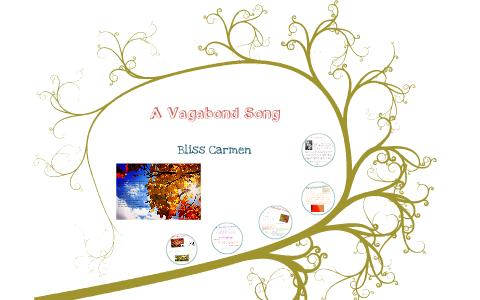 the vagabond song poem
