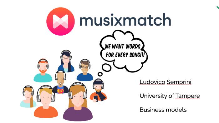 MusixmatchPresentation_LudovicoSemprini by ludovico semprini