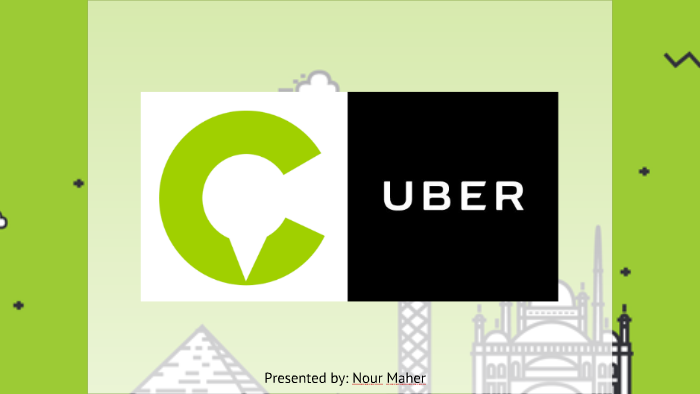 Competitive Analysis- Uber vs Careem by Nour Maher on Prezi