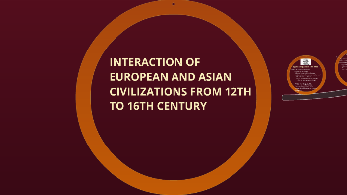 16th century of asian civilization