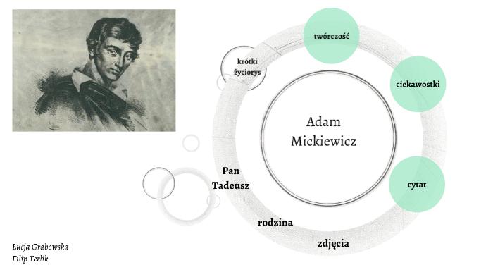 Adam Mickiewicz By луция грабовская On Prezi Next