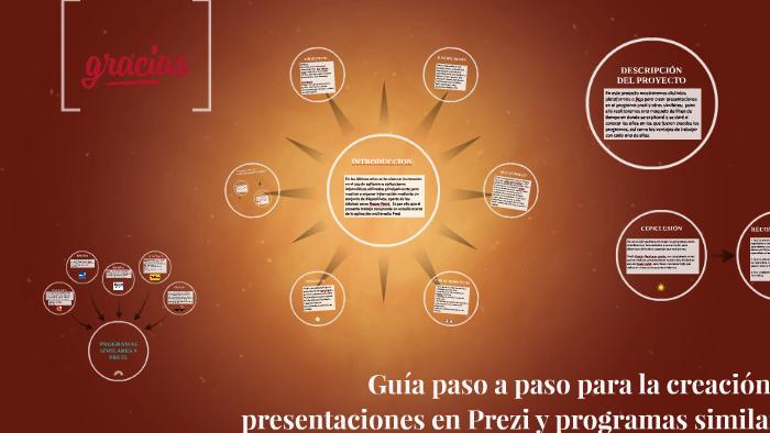 Guía Paso A Paso Para La Creación De Presentaciones En Prez By