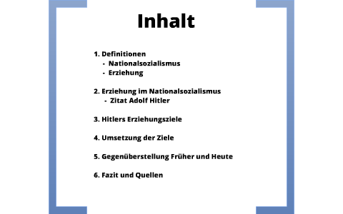 Erziehung Im Nationalsozialismus By Christof Lenze On Prezi