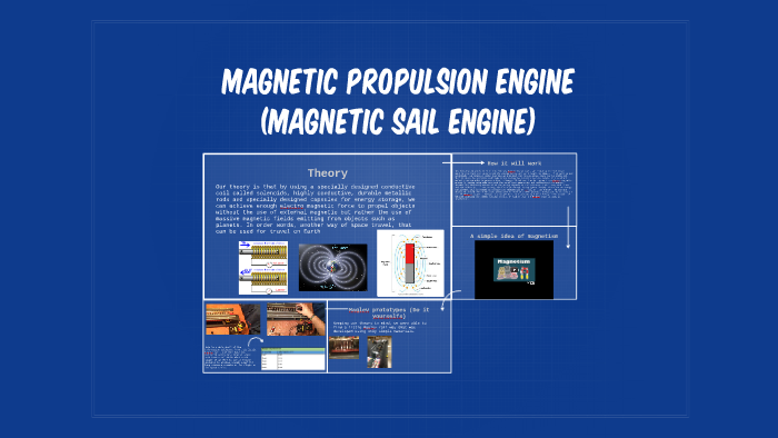 Magetic Propulsion Engine (Magnetic sail engine) by Solaris