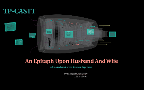 an epitaph upon husband and wife