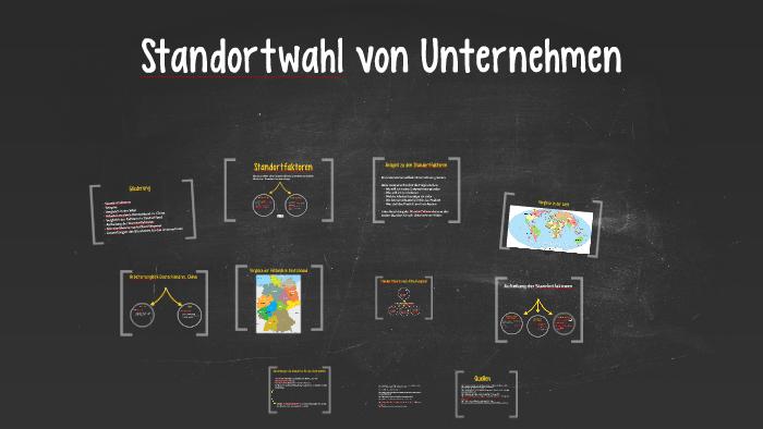 Standortwahl Von Unternehmen By Nico Hagele