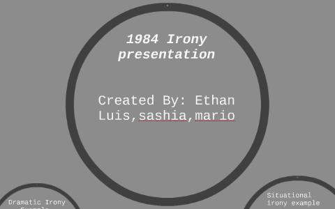 irony in 1984