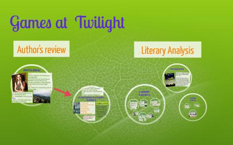 twilight literary analysis