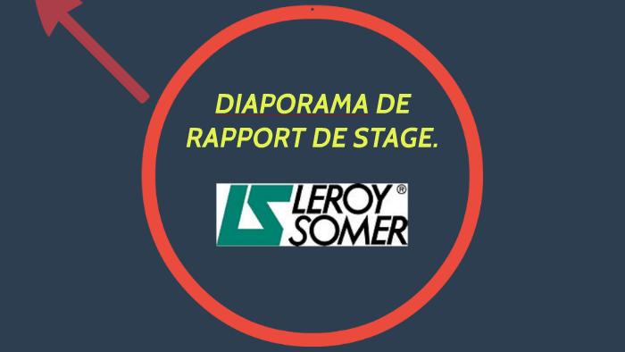 Diaporama De Rapport De Stage By Mélanie Danède On Prezi