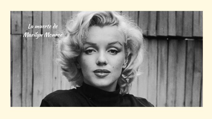 La Muerte De Marilyn Monroe By Giuli Masento On Prezi