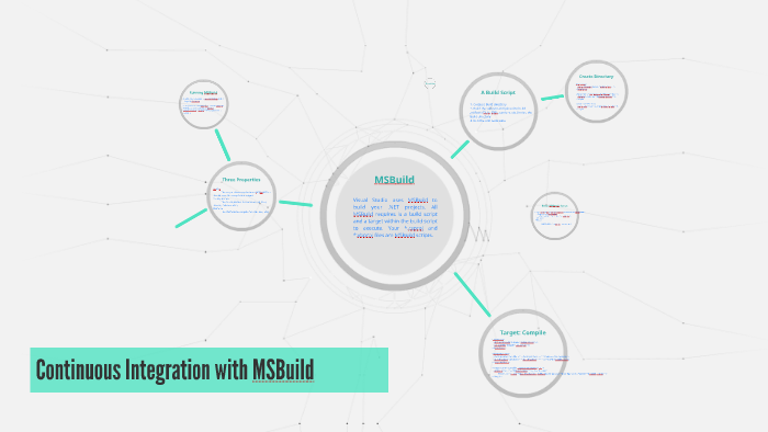 Continuous Integration with MSBuild by Shankalya Dabral on Prezi