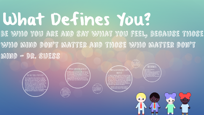 What Defines You By Tisha Naicker