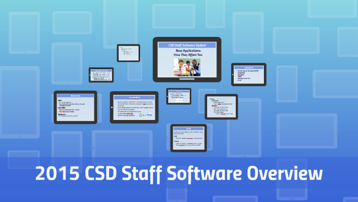 District Software Overview by Zach Wilson on Prezi
