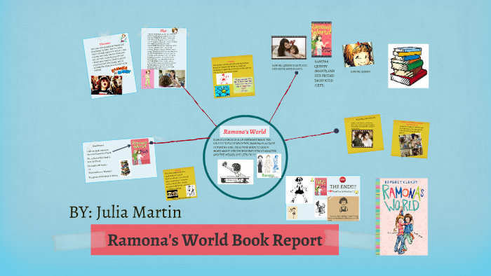 ramona and beezus book report