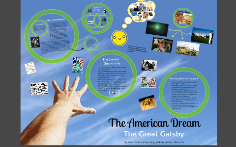 The American Dream  The Great Gatsby By Peter Oliveira On Prezi