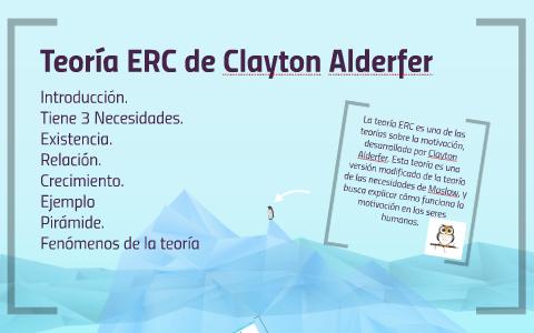 Teoria Erc De Clayton Alderfer By Oscar Heisenberg On Prezi