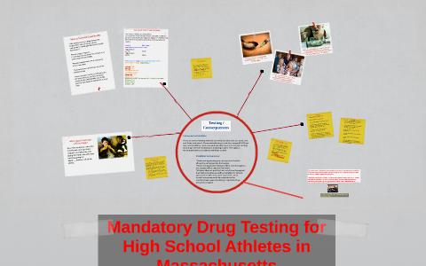 mandatory drug testing in high schools