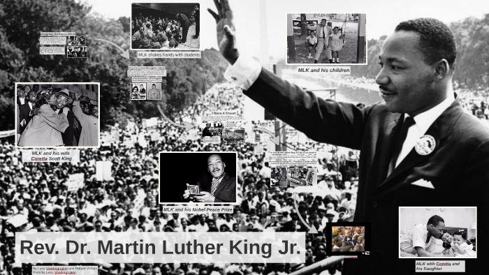 Martin Luther King Steckbrief Englisch